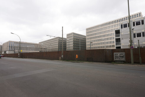 Germany, Berlin, View of BND new building of german intelligence agency - FB000056