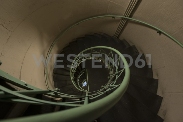 Germany, Berlin, Spiral staircase in triumphal column - FB000062 - Frank Blum/Westend61