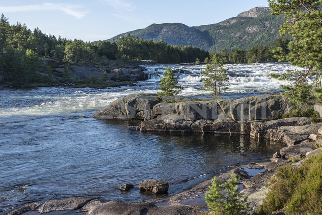 Norway, View of River Otra - HWO000001