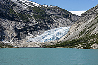 Norway, View of Jostedalsbreen Glacier - HWO000005