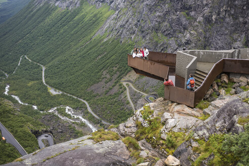 Norway, View of Trolls' Ladder - HWO000034