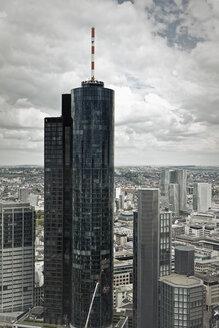 Germany, Hesse, Frankfurt, View of Main Tower - MSF002937