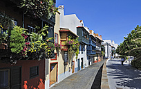 Spain, Canary Islands, View of Historic balconies - LH000170