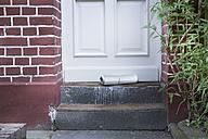 Newspaper on doorstep - FMKYF000288
