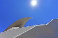 Spain, Santa Cruz de Tenerife, View of Auditorio de Tenerife concert hall - AM000405