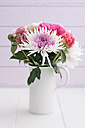 Bouquet of summer flowers on table, close up - ECF000211