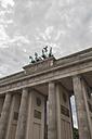 Germany, Berlin, View of  Brandenburger Tor - HAF000145