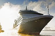 Germany, Hamburg, Queen Victoria ship at Altona - MS002960