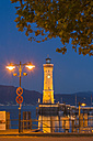 Germany, View of Lindau harbour with lighthouse - SH000776