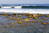 Asia, Waves breaking on reef - AMF000577
