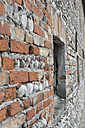Italy, Construction of house wall - CRF002433