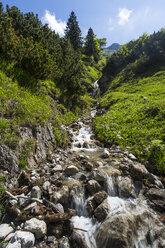 Germany, Bavaria, River in Allgaeu High Alps - STSF000047