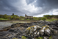 United Kingdom, Scotland, View of Dunvegan Castle - EL000219