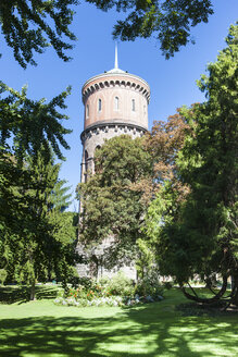 France, Colmar, View of Water Tower - AM000658
