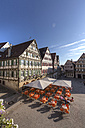 Germany, Baden Wuerttemberg, View of marketplace at Herrenberg - AM000699