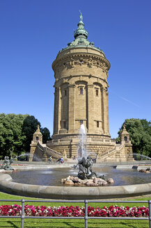 Germany, Mannheim, View of Water tower - ALE000046