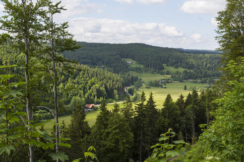 Germany, Baden Wuerttemberg, View of Black Forest - MABF000132