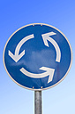 Roundabout sign - SKF001473