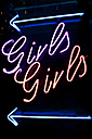 Neon sign girls girls - SKF001482