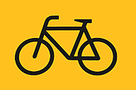 Iconic bicycle sign - SKF001491