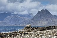 United Kingdom, Scotland, Isle of Skye,  View of Cuillin Hills - ELF000279
