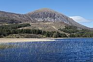 United Kingdom, Scotland,  Isle of Skye,  View of Beinn na Caillich hill - ELF000289
