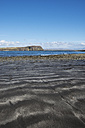 United Kingdom, Scotland, Isle of Skye,  View of black volcanic sandy at beach - ELF000292