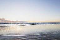 New Zealand, View of Ninety Mile Beach at sunset - GW002330