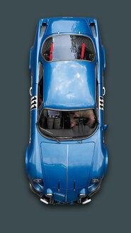 Germany, Hesse, Vintage car of Renault Alpine A 110 - BSC000308