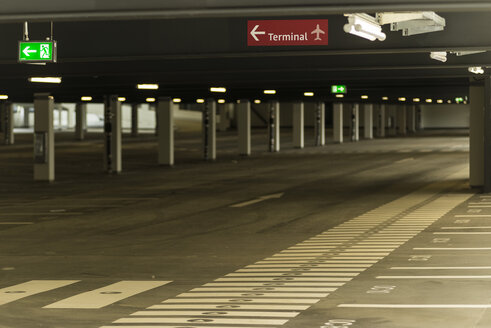 Germany, Berlin, Empty new airport - FB000073