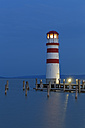 Austria, Burgenland, View of lighthouse at Lake Neusiedl - GF000153