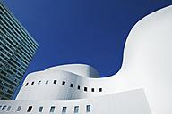 Germany, North Rhine-Westphalia, Dusseldorf, Schauspielhaus and Dreischeibenhaus - MF000650