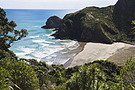 New Zealand, View of Whites beach - GWF002321
