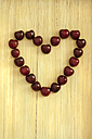Heart of cherries, close up - OD000251