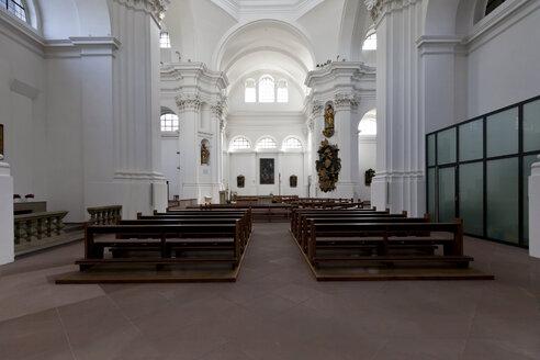 Germany, Bavaria, Wuerzburg, Interior of Church of St John - AM000771