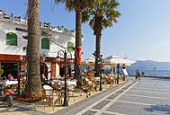 Turkey, View of cafe along street - SIE004186