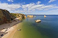 Portugal, Lagos, View of Dona Ana beach - WDF001871