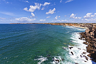 Portugal, Lagos, View of sea - WDF001858