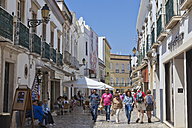 Portugal, People at pedestrian area - WD001757