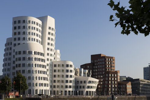 Germany, Duesseldorf, View of Gehry House - HSK000008
