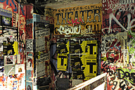 Germany, Berlin, Posters and graffitis - MIZ000360
