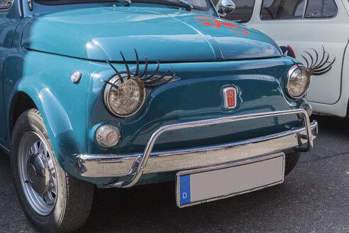 Germany, Bavaria, Oldtimer Fiat 500 - HA000213