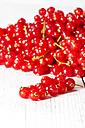 Currants on wooden table, close up - MAEF007199