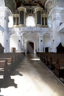 Germany, Baden Wuerttemberg, Interior of St Verena church - AM000894