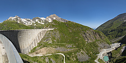Austria, Mooserboden with masonry dam - STSF000096