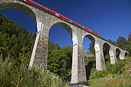 Germany, Freiburg, View of railway bridge - DHL000025