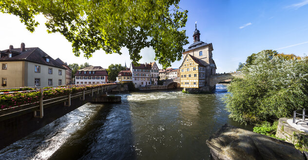 Old Town Hall on the Regnitz, Bamberg, Bavaria, Germany - AM000910
