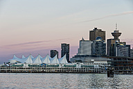 Canada, British Columbia, Vancouver,Skyline with  Canada Place and Lookout Tower - FOF005204