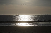 Germany, View of low tide at north sea - JTF000483