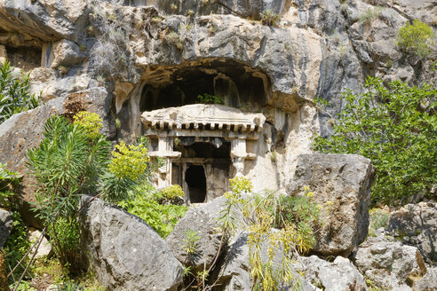 Turkey, Aegean, Necropolis of Pinara in Xanthos Valles - SIE004350